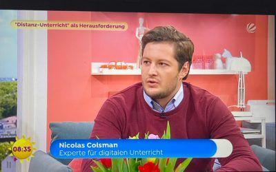 ZDB Geschäftsführer Nicolas Colsman erneut im Sat. 1 Frühstücksfernsehen