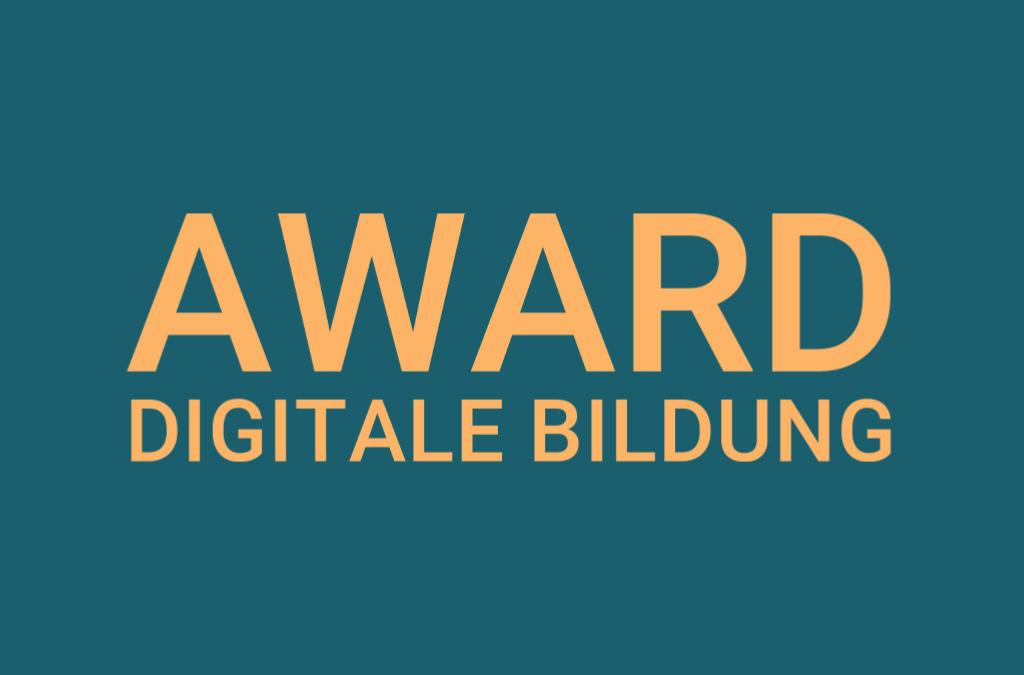 Zukunft Digitale Bildung verleiht Award für digital engagierte Lehrkräfte