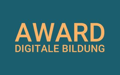 Online-Voting für den Award Digitale Bildung beginnt