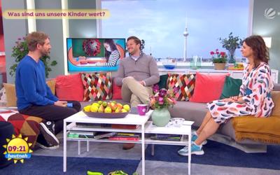Nicolas Colsman zu Gast beim SAT.1 Frühstücksfernsehen