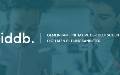 Zukunft Digitale Bildung offizieller Unterstützer der iddb.