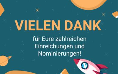 Nominierungsportal des Award Digitale Bildung ab sofort geschlossen