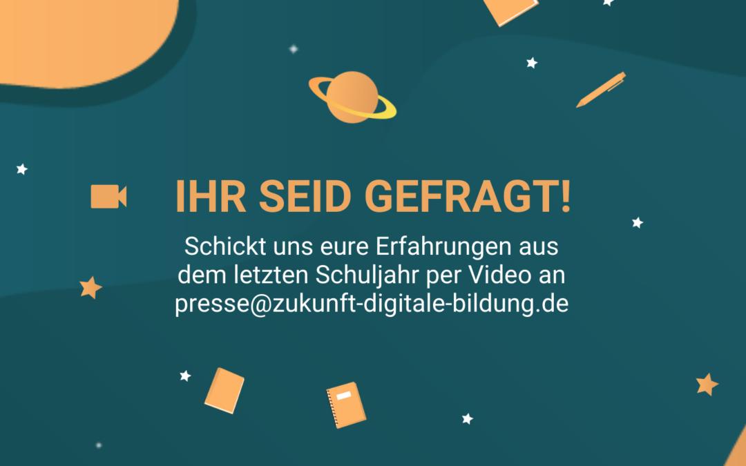 """ZDB sucht euch für """"BACK TO SCHOOL""""-Jahresrückblick"""